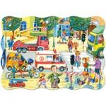 Puzzle  Castorland-02238 Vie Quotidienne