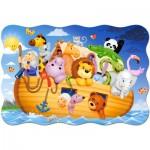 Puzzle  Castorland-02245 Pièces XXL - Arche de Noë