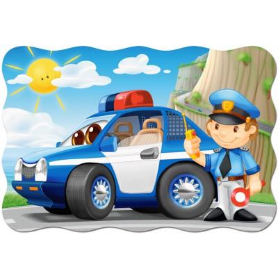 Puzzle Castorland-02252 Pièces XXL - Patrouille de Police