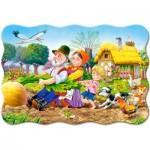Puzzle  Castorland-02283 Pièces XXL - La Grosse Carotte