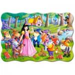Puzzle  Castorland-02320 Pièces XXL - Blanche Neige