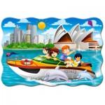 Puzzle  Castorland-02375 Pièces XXL - Sydney