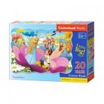 Puzzle  Castorland-02382 Pièces XXL - Poucelina