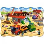 Puzzle  Castorland-02412 Pièces XXL - Maison en Construction