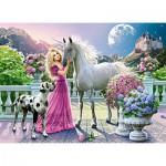Puzzle  Castorland-030088 Mon Amie la Licorne