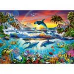 Puzzle  Castorland-030101 Paradis Marin