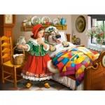 Puzzle  Castorland-030118 Le Petit Chaperon Rouge