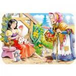 Puzzle  Castorland-03211 Blanche Neige et la sorcière