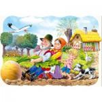 Puzzle  Castorland-03242 La grosse carotte