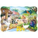 Puzzle  Castorland-03310 La ferme