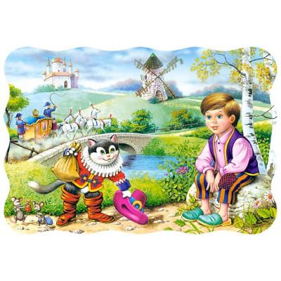 Puzzle Castorland-03334 Le chat botté