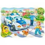 Puzzle  Castorland-03389 Le chemin de l'école