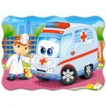 Puzzle  Castorland-03471 Médecin de l'Ambulance