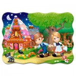 Puzzle  Castorland-03532 Hansel et Gretel