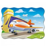 Puzzle  Castorland-03587 Avion
