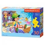 Puzzle  Castorland-03662 Pinocchio