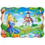 Puzzle  Castorland-03679 La Princesse et la Grenouille