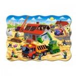 Puzzle  Castorland-03686 Maison en Construction