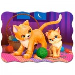 Puzzle  Castorland-03709 Chatons