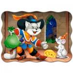 Puzzle  Castorland-03730 Le Chat Botté