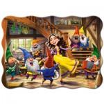 Puzzle  Castorland-03754 Blanche Neige et les Sept Nains