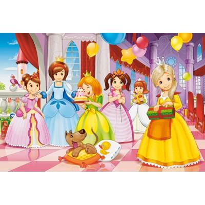 Puzzle Castorland-040162 Pièces XXL - Fête des Princesses