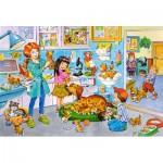Puzzle  Castorland-040186 Pièces XXL - Chez le Vétérinaire