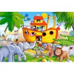 Puzzle  Castorland-040209 Pièces XXL - Arche de Noë
