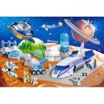 Puzzle  Castorland-040230 Pièces XXL - Space Station
