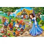 Puzzle  Castorland-040247 Pièces XXL - Blanche Neige