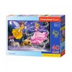 Puzzle  Castorland-040278 Pièces XXL - Cendrillon