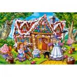 Puzzle  Castorland-040285 Pièces XXL - Hansel & Gretel