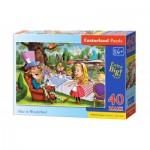 Puzzle  Castorland-040292 Pièces XXL - Alice au Pays des Merveilles