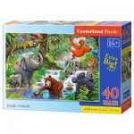 Puzzle  Castorland-040315 Pièces XXL - Jungle Animals