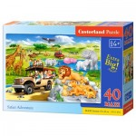 Puzzle  Castorland-040322 Safari Aventure