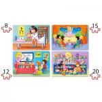 Puzzle  Castorland-041022 Pièces XXL - J'aime mon Travail