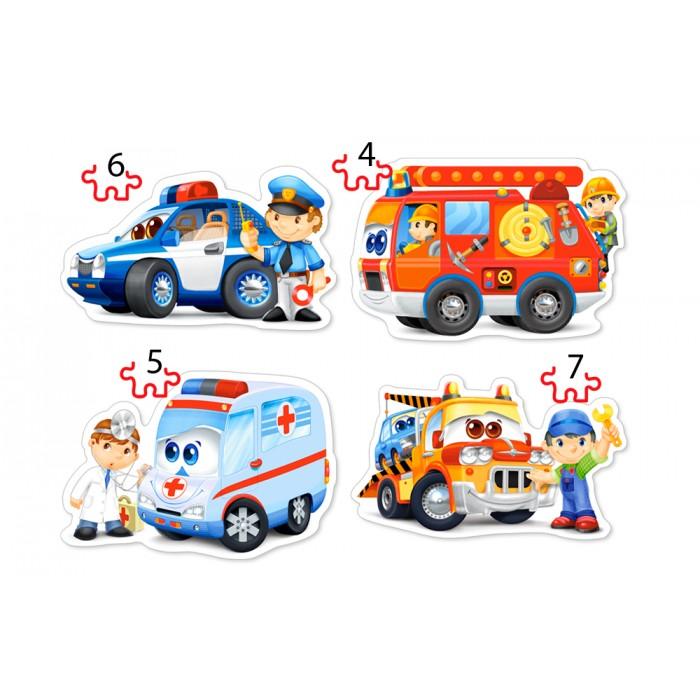 4 Puzzles - Services de Secours