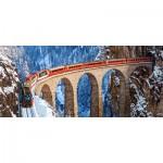 Puzzle  Castorland-060016 Landwasser Viaduct, Alpes Suisse