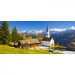 Puzzle  Castorland-060153 Church Marterle, Carinthia, Autriche