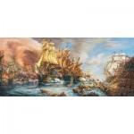 Puzzle  Castorland-060252 Battle at the Sea