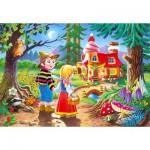 Puzzle  Castorland-06526 Hansel et Gretel