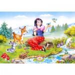 Puzzle  Castorland-06557 Blanche Neige