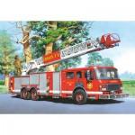 Puzzle  Castorland-06595 Camion de pompier