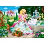 Puzzle  Castorland-066056 La Princesse et le Cygne
