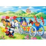 Puzzle  Castorland-066070 Le Chat Botté
