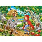 Puzzle  Castorland-066117 Le Petit Chaperon Rouge