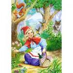 Puzzle  Castorland-06625 Le Petit Chaperon Rouge