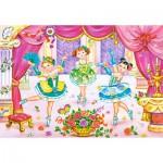 Puzzle  Castorland-06687 Les petites ballerines