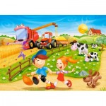 Puzzle  Castorland-06878 Summer in the Countryside