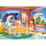 Puzzle  Castorland-06915 Le Petit Chaperon Rouge